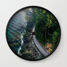 The Vancouver Seawall Wall Clock