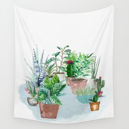 Plants 2 Wall Tapestry