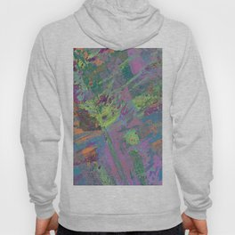 Abstract Thoughts 2 - Textured, painting Hoody