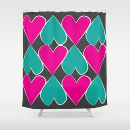 Cuore Shower Curtain