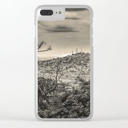Guayaquil Outskirts Aerial View from Botanical Garden Clear iPhone Case