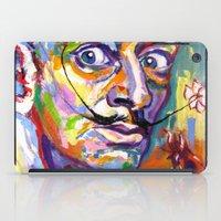 salvador dali iPad Cases featuring salvador dali by yossikotler