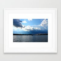 cape cod Framed Art Prints featuring Cape Cod by NJ Swimm