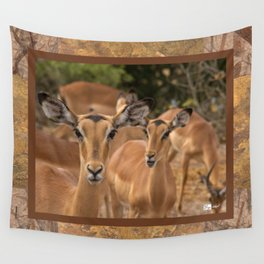 CW-001-Gazelle Wall Tapestry