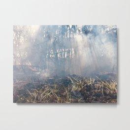 Sun Streaks in the Smoke Metal Print