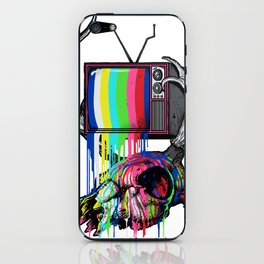 COLORS TV iPhone Skin