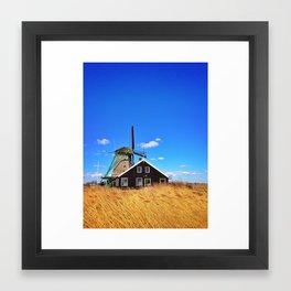 Dutch Countryside Framed Art Print