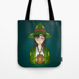 Candlelight Witch Tote Bag