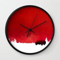 van Wall Clocks featuring Waiting in a van by Robert Farkas
