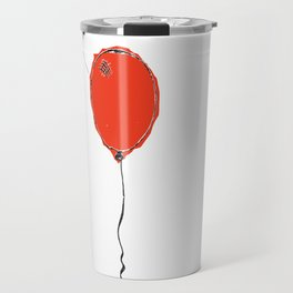 Awkward Balloon Travel Mug