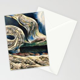 "William Blake ""Illustrations to Dante's Divine Comedy - The Circle of the Lustful Francesca Rimini"" Stationery Cards"