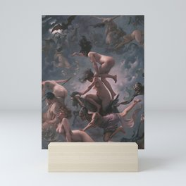 WITCHES GOING TO THEIR SABBATH / THE DEPARTURE OF THE WITCHES - LUIS RICARDO FALERO Mini Art Print