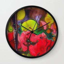 Broken Petals  Wall Clock