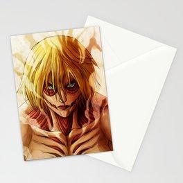 Annie leonhardt Titan Artwork Stationery Cards