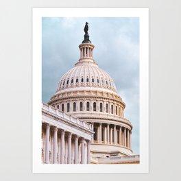 The U.S. Capitol Art Print