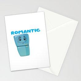 i love romantic walks in the fridge Stationery Cards