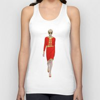 moschino Tank Tops featuring Runway Moschino Girl McDonalds by RickyRicardo787