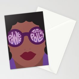 Power To The Polls Stationery Cards