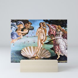 12,000pixel-500dpi - Sandro Botticelli - The Birth Of Venus - Digital Remastered Edition Mini Art Print