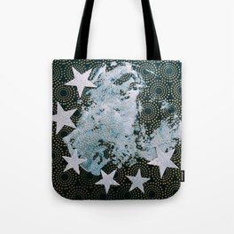 Full Frost Moon Tote Bag