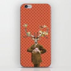 Monsieur Le Cerf iPhone & iPod Skin