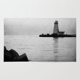 Lake Michigan Lighthouse Rug