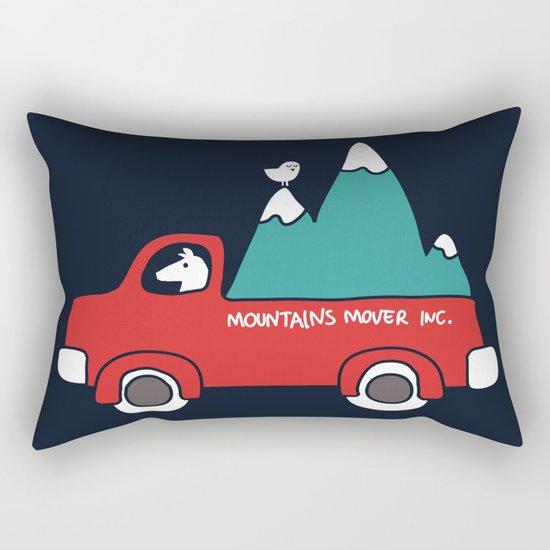 Moving Mountains Rectangular Pillow