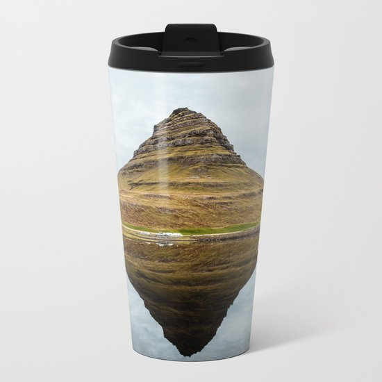 Mountain reflect Metal Travel Mug