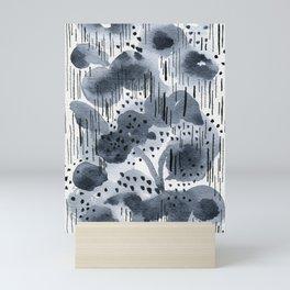 Trickling, soaking, dripping Mini Art Print