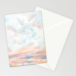 Dissipate - Bright Colorful Ocean Seascape Stationery Cards