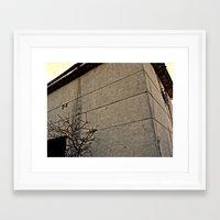 concrete Framed Art Prints featuring concrete by black ghöst