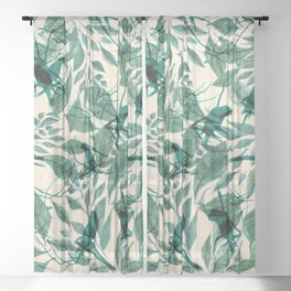 Tropical Sound Sheer Curtain