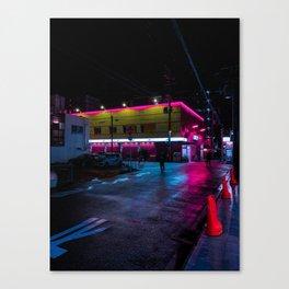 Lucky nights Canvas Print