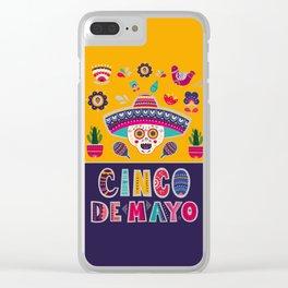 Cinco de Mayo – Scull Clear iPhone Case