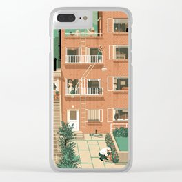Hitchcock's Rear Window Clear iPhone Case