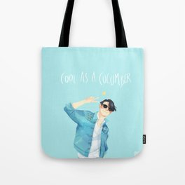 Cool as a cucumber Tote Bag
