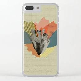 The beauty of defiance Clear iPhone Case