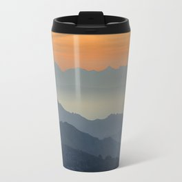 """Sunset at the mountains"". Dreaming... Travel Mug"