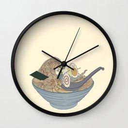 THE GREAT SLURP Wall Clock