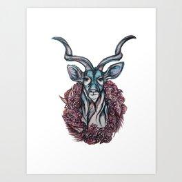 Kudu Voodoo Art Print