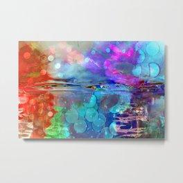 Abstract Blurs . Metal Print
