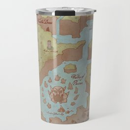 Super Mario World Map (Vintage Style) Travel Mug