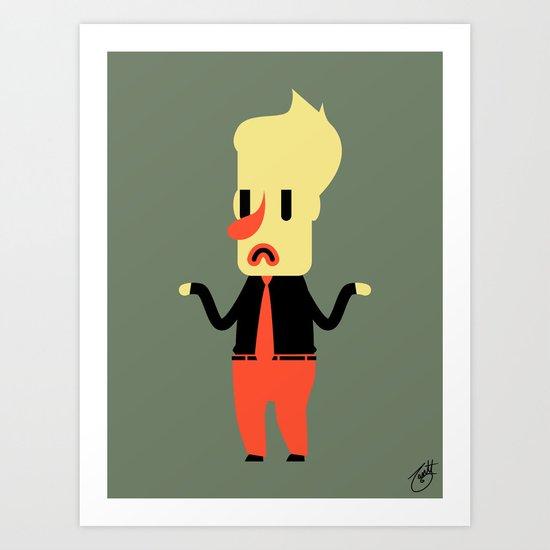 Clive Art Print