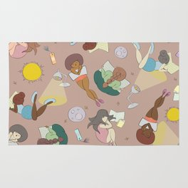 For the Love of Books Rug