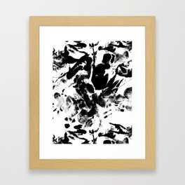skin Framed Art Print