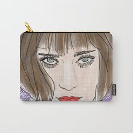 Floral chloe Carry-All Pouch