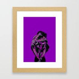 the plural to the singular II Framed Art Print