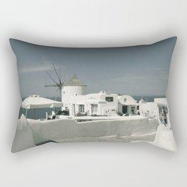 Santorini, Greece 8 Rectangular Pillow