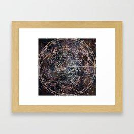 Celestial Charts II Framed Art Print