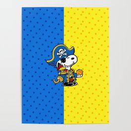snoopy carribean Poster